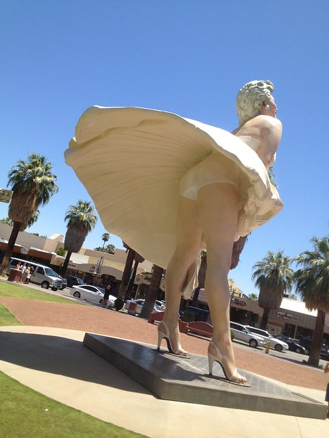 Forever Marilyn by Seward Johnson
