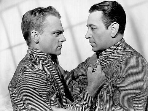 James Cagney and George Raft