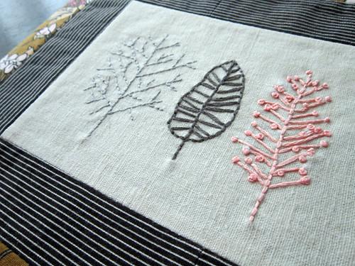 random embroidery piece