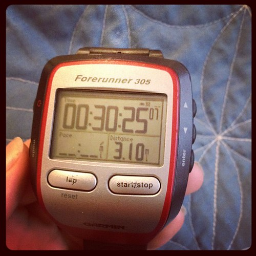 This morning's run. #proof #fitfluential