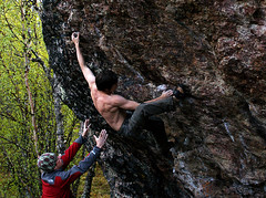 soil(0.0), adventure(1.0), individual sports(1.0), sports(1.0), recreation(1.0), free solo climbing(1.0), outdoor recreation(1.0), rock climbing(1.0), sport climbing(1.0), extreme sport(1.0), climbing(1.0), bouldering(1.0),