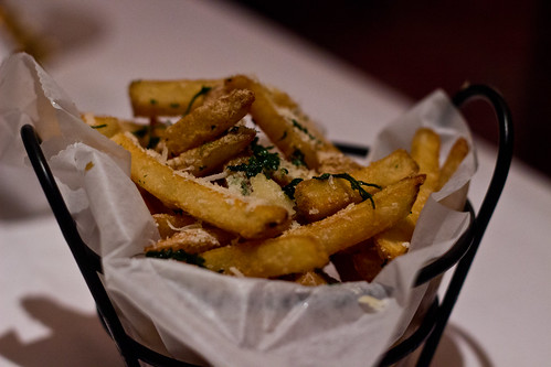 Truffle Fries at The Capital Grille
