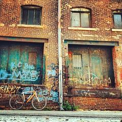 downtown alley bike stop #5