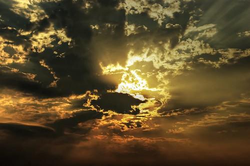 [フリー画像素材] 自然風景, 空, 雲, 朝焼け・夕焼け ID:201207272000