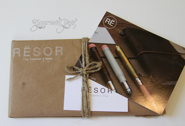 Resor Shop Custom Travel Notebook Package