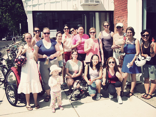 July Toronto Girls' Cupcake Ride