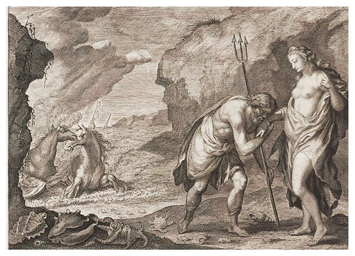 018- Neptuno enamorando a Cenis-Ovid's Metamorphoses In Latin And English V.2- Bernard Picart-© UniversitättBibliotheK Heidelberg