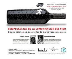 Jornada de marketing para analizar la comunicación del vino