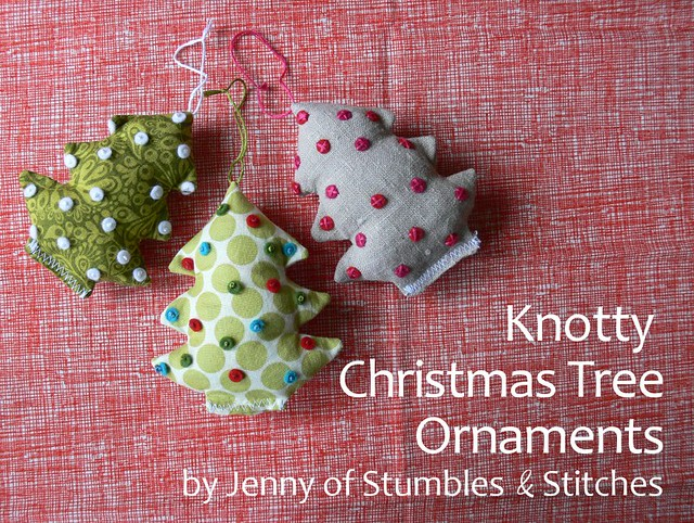 Tutorial: Knotty Christmas Tree Ornaments