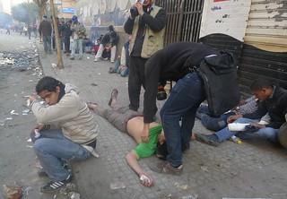 Tear gas - Mohamed Mahmoud Street