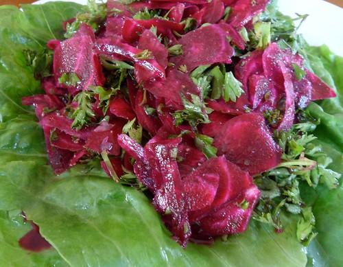 Jamie Oliver's Red Beet Salad Recipe