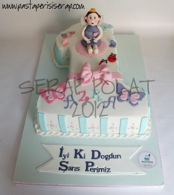 1 yaş pastası- AZRA