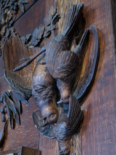 More Woodcarvings at Chatsworth