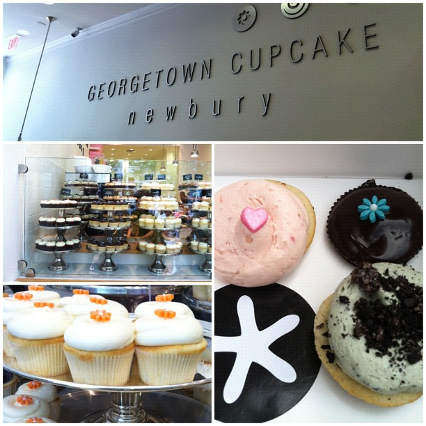 Tried out #Georgetown #cupcakes on #newburyst today. Not bad and better than #SweetCupcakes. #allthingsfluffy #frosting #foodporn #cupcakeheaven #instagood #instafood #ohnomnomnom #yum #nomnation yummy #picoftheday #photooftheday