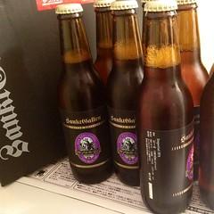 サンクトガーレン頒布会のビール来た!