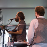 A cool and experimental set on the Quad stage, Saturday afternoon. Photo by Laura Fedele