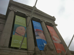 Alex Katz Banners at the MFA by randubnick