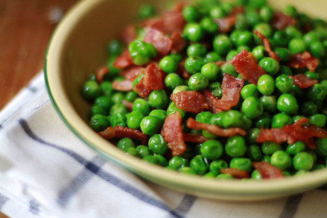 Peas & Bacon
