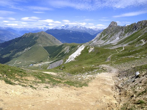 On way to Col du Mottet