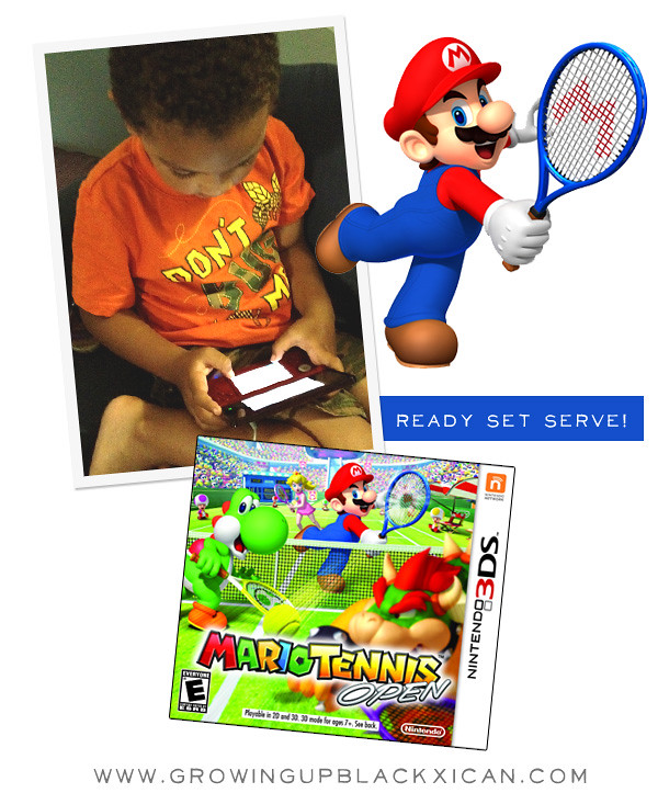Mario tennis open #3M3DS