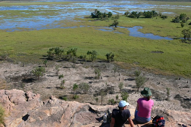 Nabab Wetlands Lookout - Ubirr Aboriginal Art Site - Kakadu National Park, Northern Territory, Australia