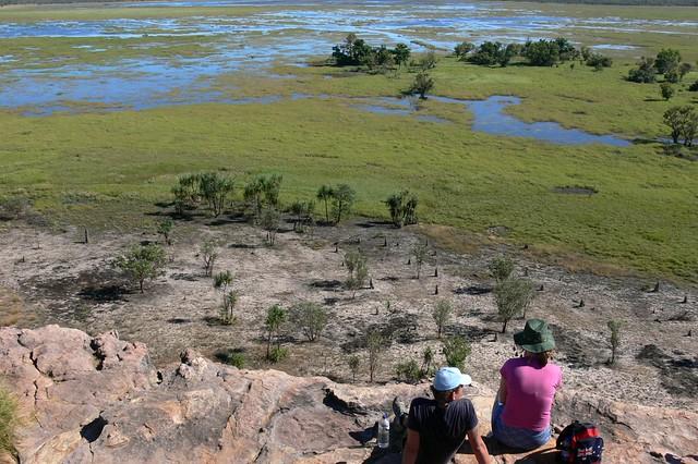 Nabab Wetlands Lookout - Ubirr Aboriginal Art Site - Kakadu National Park, Northern Territory, Australia