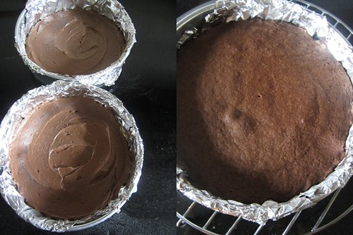 Rachel Allen's Chocolate Cake-step5