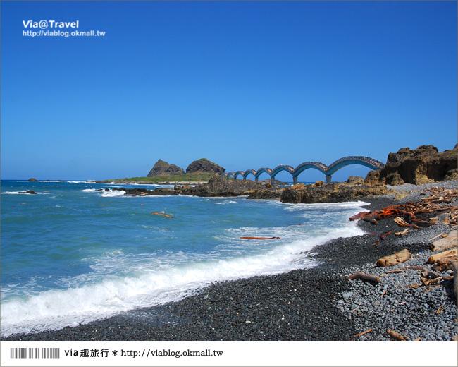 【台東必去景點】台東三仙台~我心目中台灣最美的一座橋啊!5
