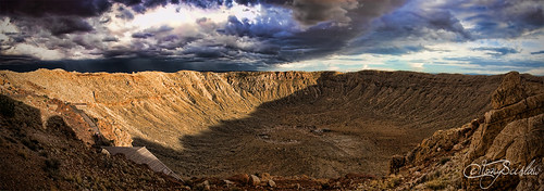 arizona panorama meteorcrater