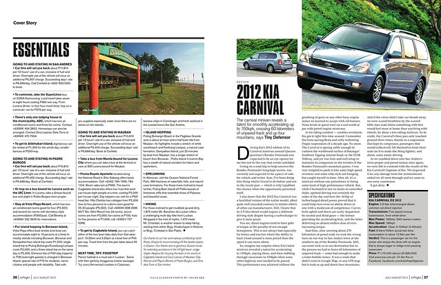 InFlight July-August 2012 Cover Story Page 8
