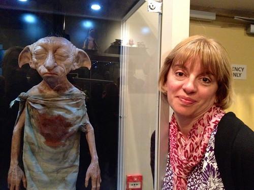 My mom with a dead Dobby