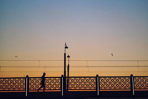 Galata bridge...