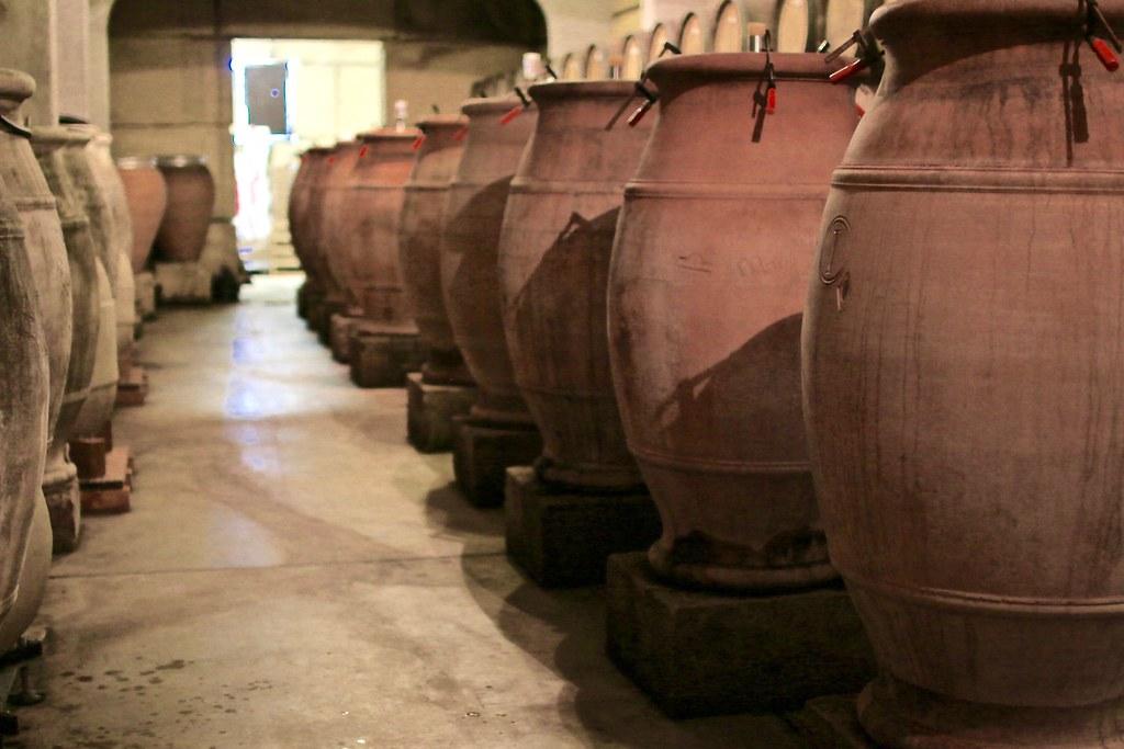 Amphoras Viret Wine Cellar