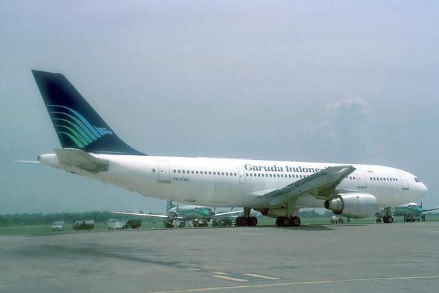 PK-GAE Airbus A.300B4-220 Garuda Indonesia Airways