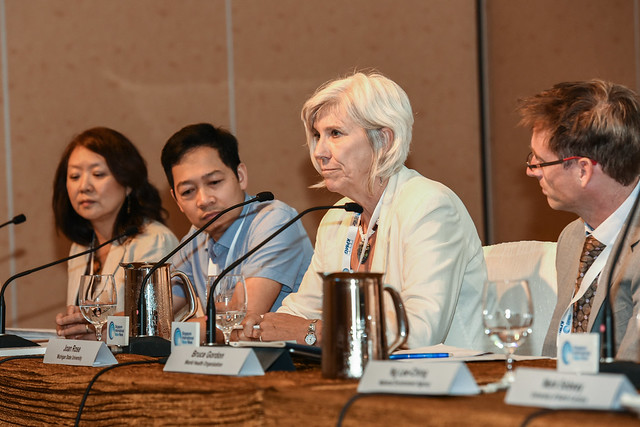 Photo:Hung Nguyen in the 'One Water, Health' panel By International Livestock Research Institute