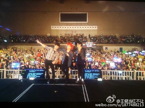 G-Dragon, Seung Ri & Tae Yang - V.I.P GATHERING in Harbin - 21mar2015 - 王健当红不让 - 06