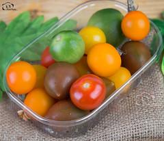 A Rainbow of Heirloom Tomatoes.