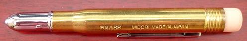 Midori Brass Bullet Closed