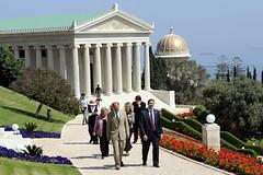 Visit to the Baha'i World Center_040