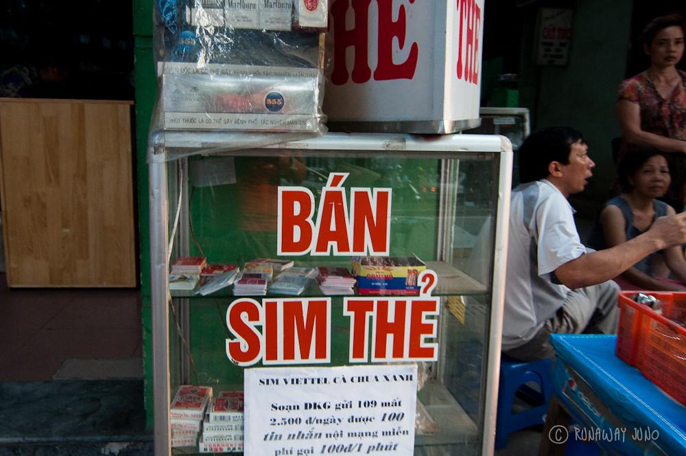 Sim Card Hanoi Vietnam