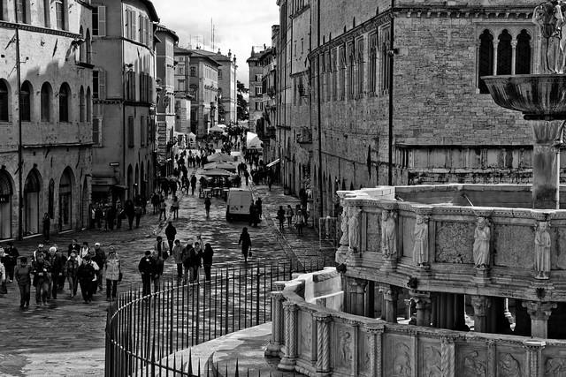 Perugia - Street Scene