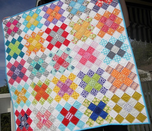Granny Squares baby quilt