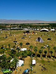 Coachella from Above