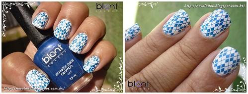 Blant - Esmalte para carimbo Azul