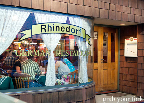 Rhinedorf German Restaurant Beverly Hills
