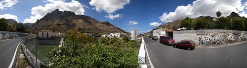 Casas del Camino, Valle de Agaete. Isla de Gran Canaria