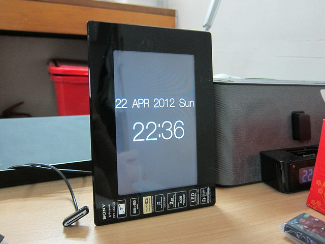 Sony S-Frame DPF-HD700 - Portrait