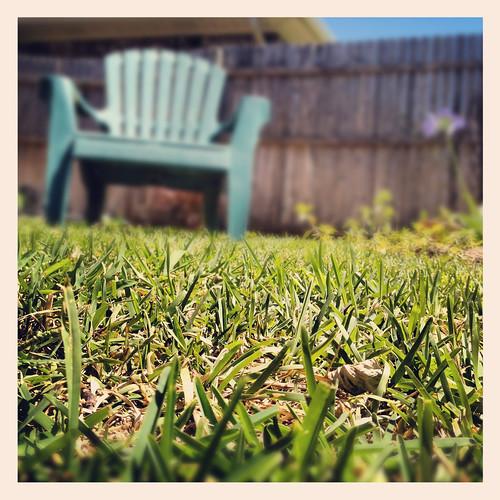 grass st yard chair backyard lawn augustine blades adirondack