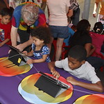 KLRU 50th Birthday Party 2012 115 PBS Kids Island activity station