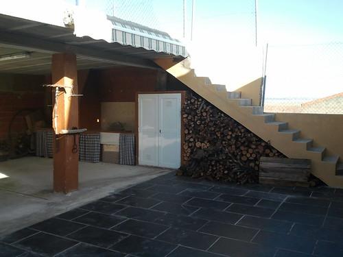 Casa Rural Singra-- Patio (con leña y barbacoa) y Terraza